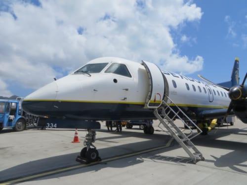 プエルトリコから運行しているシーボーン航空。